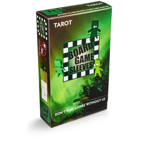 Tarot Board Game Sleeves Non Glare 70×120 mm By Arcane Tinmem