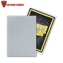 Dragon Shield Matte Non-Glare Sleeves - Silver - Ventura Games