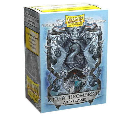100 Dragon Shield Sleeves - Classic King Athromark III