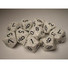Chessex Speckled Arctic Camo - Ten Dice Set - Ventura Games