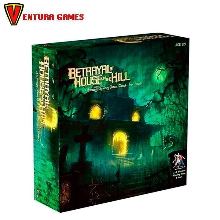 Betrayal at House on the Hill: 2nd Edition - Ventura Games