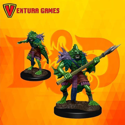 D&D Nolzur's Marvelous Miniatures - Sahuagin - Ventura Games