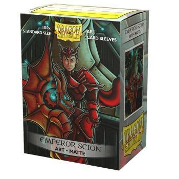 Dragon Shield Matte Art Sleeves - Emperor Scion: Portrait (100 Sleeves) - Ventura Games