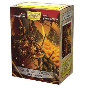 Dragon Shield Matte Art Sleeves - General Vicar: Portrait (100 Sleeves) - Ventura Games