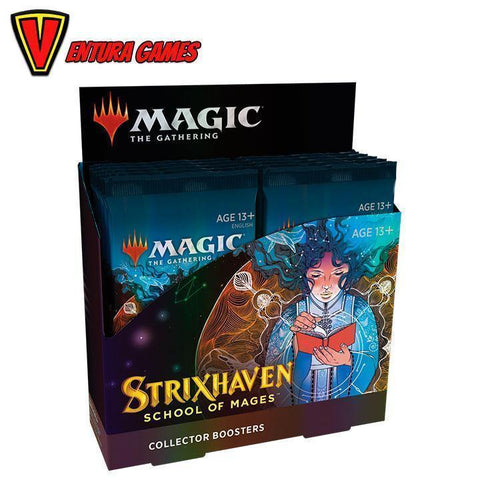 Strixhaven: School of Mages Collector Booster Box  (12 Packs)