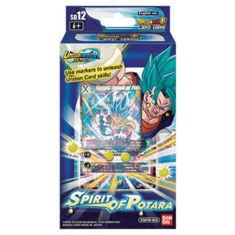 Dragon Ball Super Card Game Starter Deck Spirit of Potara - Ventura Games