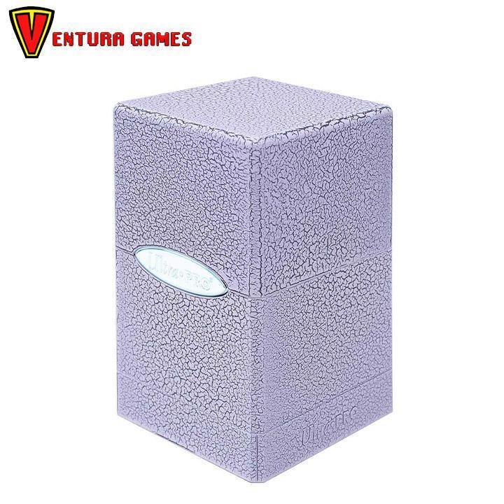 UP - Deck Box - Satin Tower - Ivory Crackle - Ventura Games