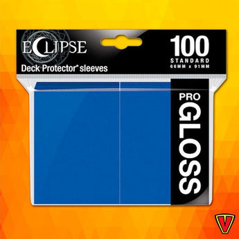 UP - Standard Sleeves - Gloss Eclipse - Pacific Blue - Ventura Games