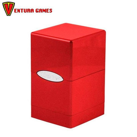 UP - Deck Box - Satin Tower - Fire - Ventura Games