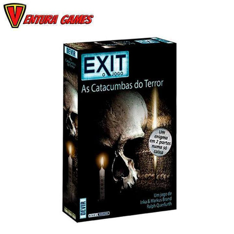 Exit - As Catacumbas Do Terror - Ventura Games