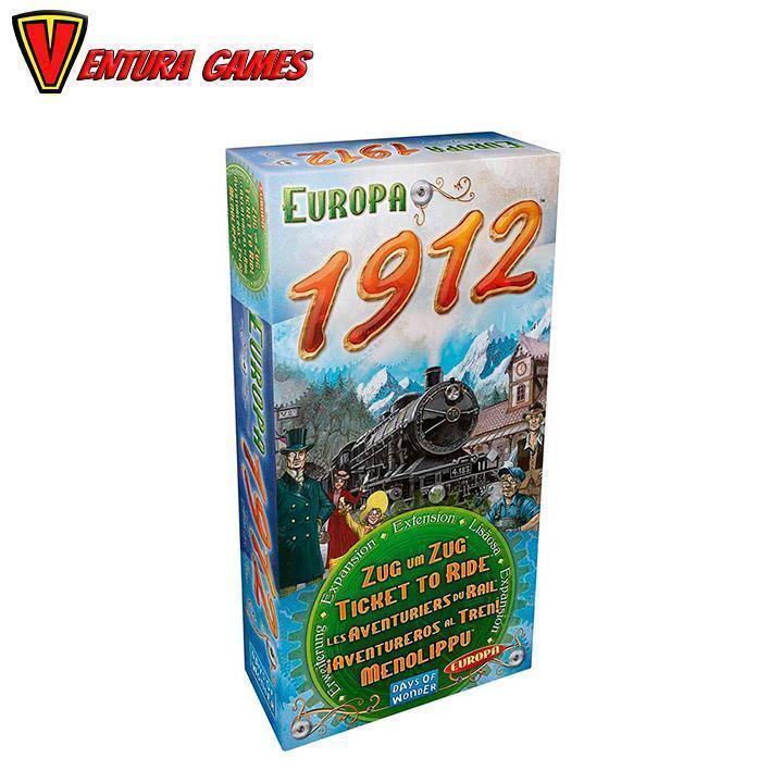 Ticket to Ride - Europe 1912 Expansion - Ventura Games