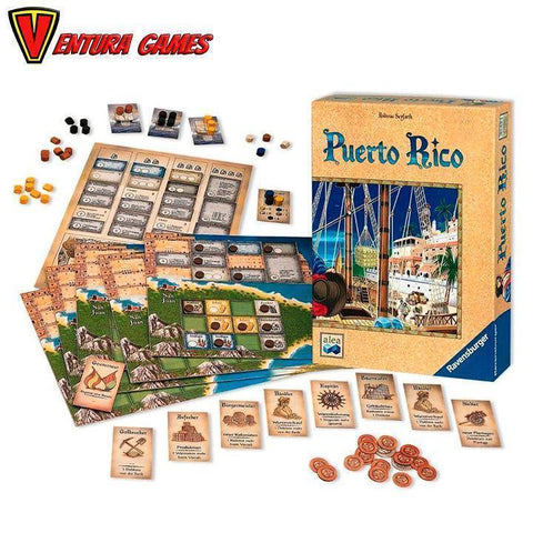 Puerto Rico - Board Game - Ventura Games