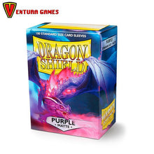 Dragon Shield Standard Sleeves - Matte Purple - Ventura Games