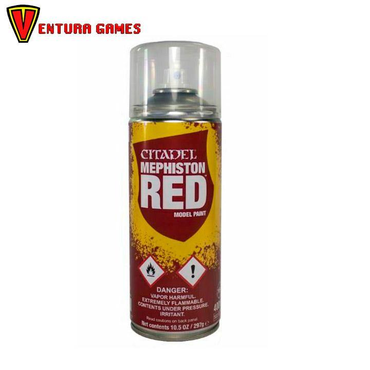 Citadel: Sprays Mephiston Red - Ventura Games