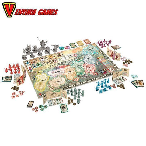 Rising Sun - Board Game - Ventura Games