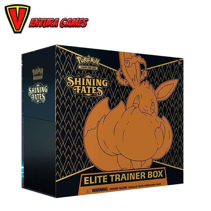 Pokémon TCG: Shining Fates Elite Trainer Box - Ventura Games