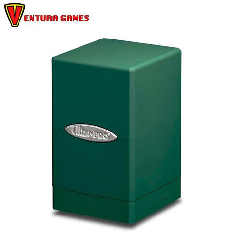 UP - Deck Box - Satin Tower - Green - Ventura Games