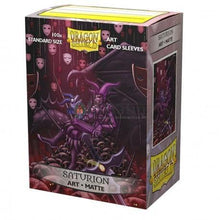 Dragon Shield Matte Art Sleeves - Saturion: Portrait (100 Sleeves) - Ventura Games