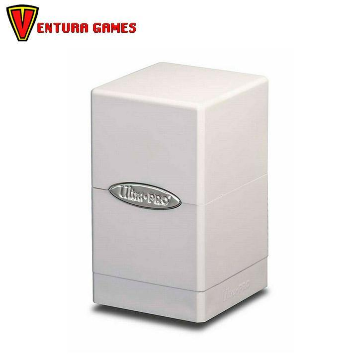UP - Deck Box - Satin Tower - White - Ventura Games