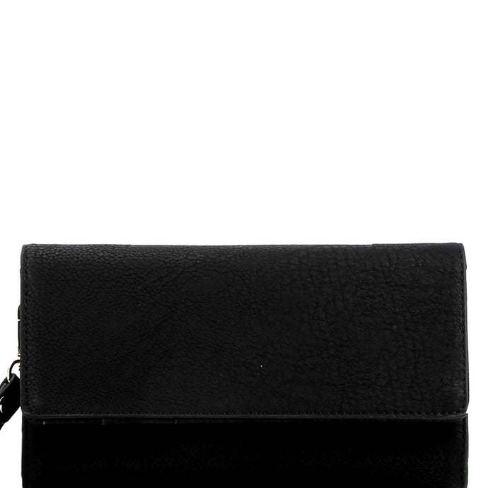 Versatile Cellphone Holder Wristlet Wallet Black