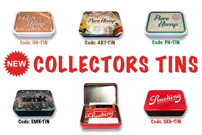 NEW Limited Edition Collectors Tins JUST ARRIVED!!!