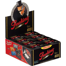 Smoking DeLuxe 1 1/4 Medium Size 300 Flat Pack