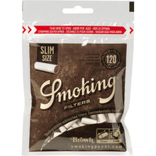 Smoking Brown Biodegradeable Slim Filters