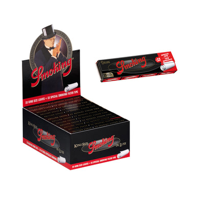 Smoking DeLuxe King Size + Tips