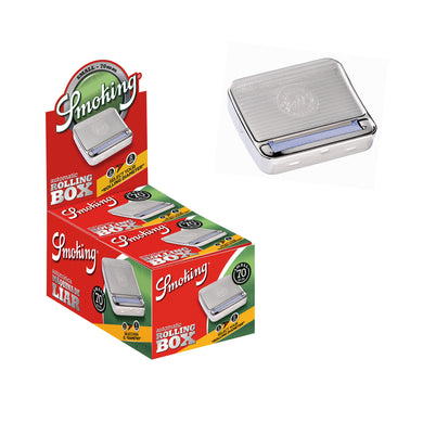 Smoking Metal Rolling Box Single Wide 70mm Size