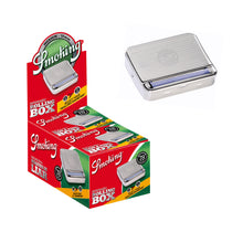 Smoking 78mm Metal Rolling Box 1 1/4 Medium Size