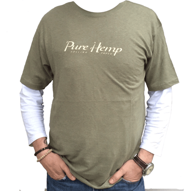 Pure Hemp Green Hemp/Cotton T-Shirt