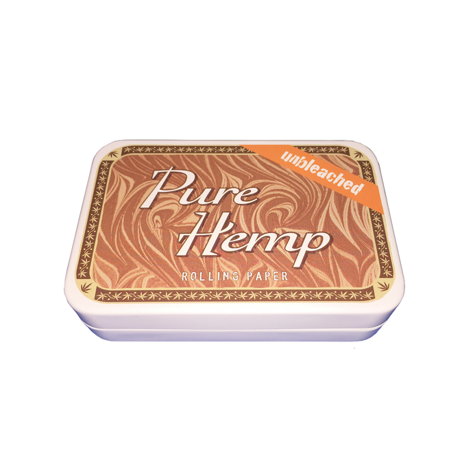 Pure Hemp Unbleached Limited Edition Tin