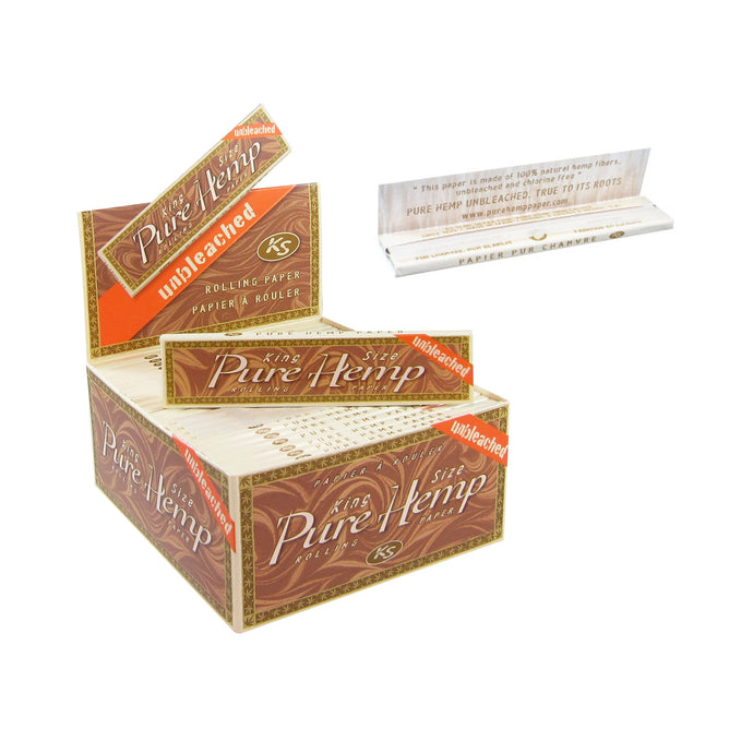 Pure Hemp Unbleached King Size