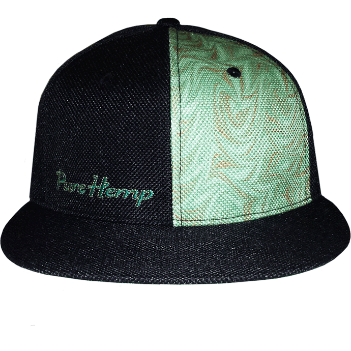Pure Hemp GrassRoots Fitted 6 Panel Limited Edition Hat