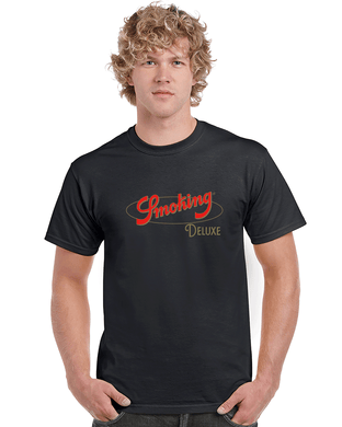 Smoking DeLuxe T-Shirt (Black)