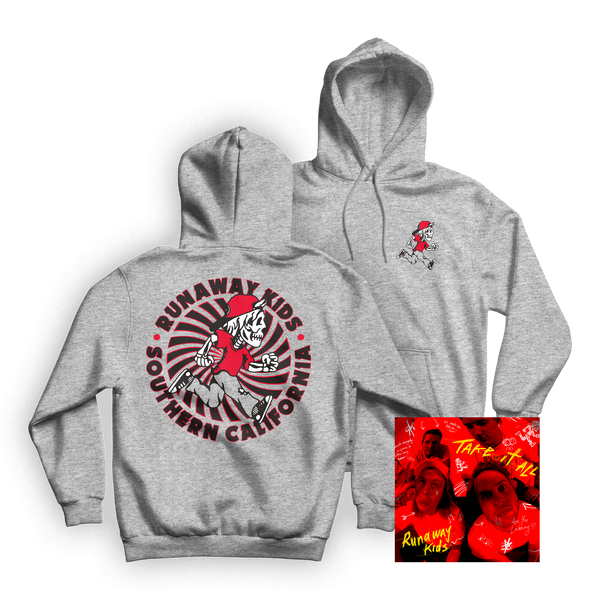 Spiral Pullover Hoodie