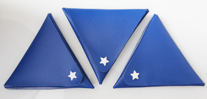 How To Make A No Sew Triangle Origami Coin Purse With Kam Snap