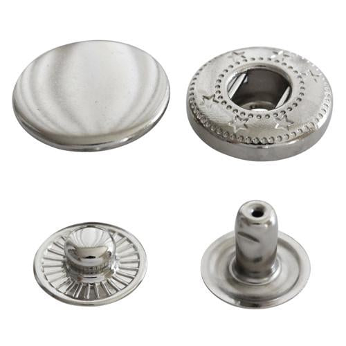 KAM Plastic Snap Fasteners instead of Sew-on Buttons Velcro