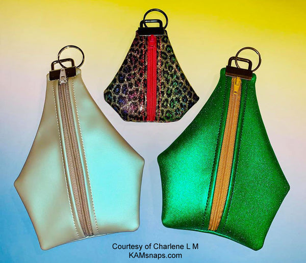 Small Hanging Attachable Zippered Pouches Bags