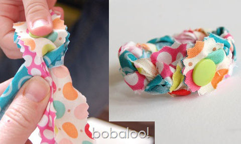 How to Make a No-Sew Braided Bracelet Tutorial Free Pattern with KAM snaps no-sew button fasteners