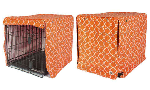 Dog Crate Kennel Cover with KAM snap fasteners