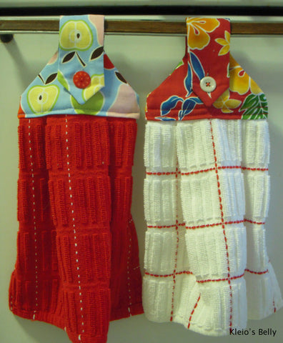 Hanging Dish Towels With Snaps That Won T Fall Off Kamsnaps