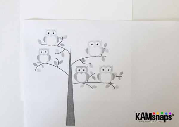 How to make a greeting card using KAM snap fasteners print out image