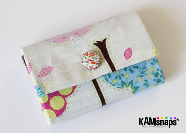 Make Fabric Covered KAM Plastic Snap Fasteners with Cover Buttons No-Sew