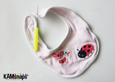 How To Replace The Velcro on Bibs and Make Bib Extenders (No-Sew