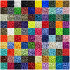 KAM Plastic Snaps Button Fasteners Size 20 Sets Every Color (110 Colors)