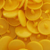 KAM Plastic Snaps Button Snap Fasteners Size 20 Sets B10 Sunset Yellow