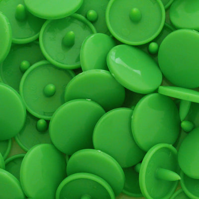 KAM Plastic Snaps Button Snap Fasteners Size 20 Sets B14 Spring Green