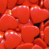 KAM Plastic Snaps Heart Shape Hearts Shapes Size 20 B1 Orangey Red