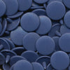 KAM Plastic Snaps Snap Fasteners Size 20 Regular Sets B32 Denim Blue
